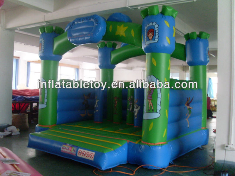 Hot sale green inflatable jumping ,inflatable jumping castle,jumping bouncer