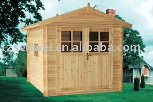 log tool house, prefab and cheap,direct manufacture