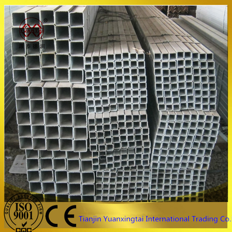 ASTM a53 gr.b steel structure welded square pipe use carbon steel plate