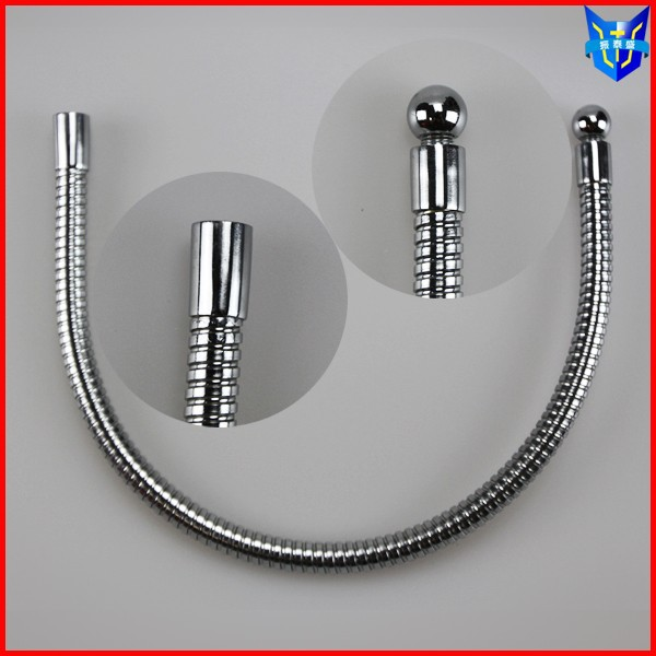 Chromed plated flexible metal tube distributor