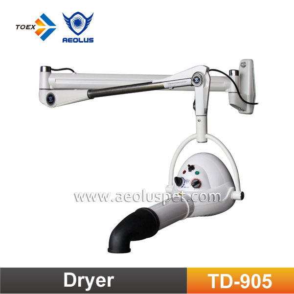 TD-905 Economic Wall Mounted Ionic Dog Dryer Pet Grooming Hair Dryer