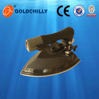 Movable water tank, electric steam iron ceramic/SS/Teflon sole plate