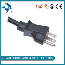 Professional manufacturer power cord with male female plug