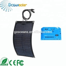 Bendable Sunpower 20W Polycrystalline Solar Panel Flexible Solar Photovoltaic Panel Use in Marine
