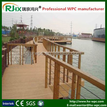 Outdoor wood plastic composites fencing for trellies and gates
