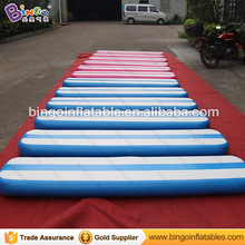 15 CM High DWF inflatable balance beam tumble track inflatable air mat for gymnastics