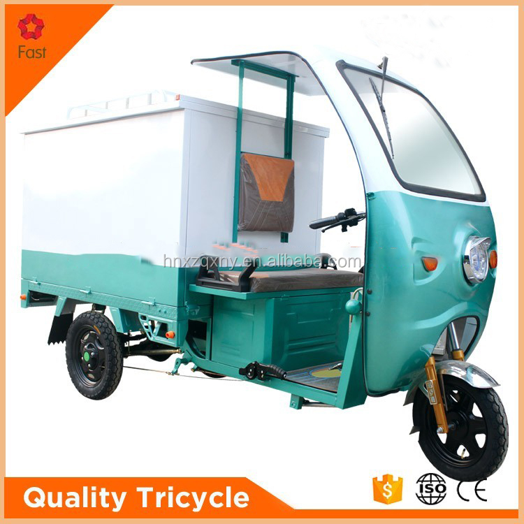 china fashion motorized cargo tricycle for Iran