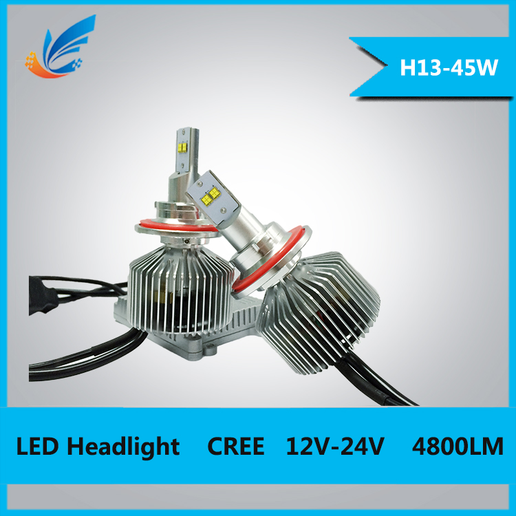 LED car Accessory 12v car head led lights
