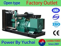 CE/ISO9001 approved 24kw used diesel generator for sale