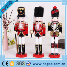 Polyresin crafts christmas decoration life size nutcracker statue for children