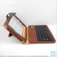 tablet case leather case keyboard for ipad mini P-iPDMINICASE119