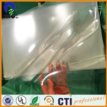 Professional golden plastic packing rigid pvc sheets With Good Service