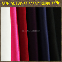 shaoxing textile High quality solid sateen fabric for bedding 100%cotton sateen fabric cotton spandex sateen fabric