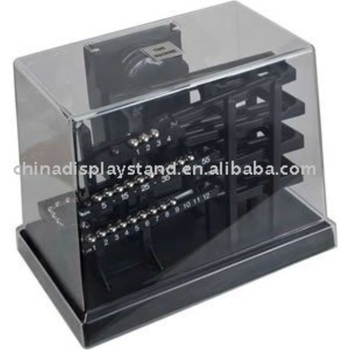 Acrylic Display Case for Time Machine rolling ball clock acrylic Time Machine rolling ball clock display cases