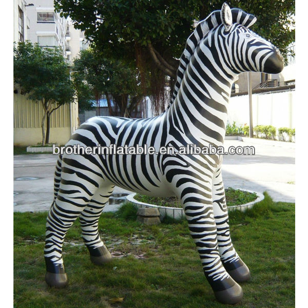 Advertising Giant Oxford Cloth Inflatable Zebra