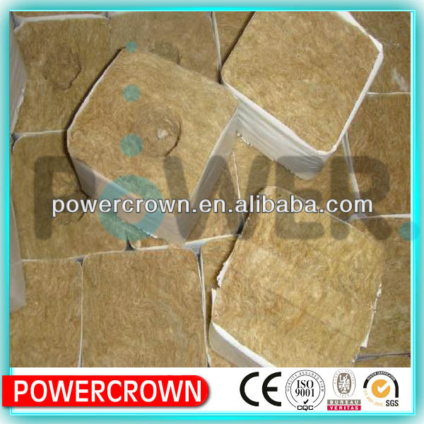 Agricultural rock wool with light weight/ main raw materials