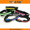 Hot flat optical fiber collar TZ-PET1036 recycled material dog collars