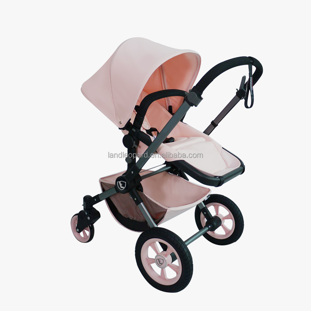 HIGH SEEING SEAT BABY STROLLER KEEP FAR AWAY AUTO EXHAUST AND ROAD DUST 600MM WIDE PRAM