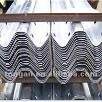 Steel Barrier Guardrail Used