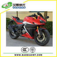 250cc Automatic Motorcycle Motorbike Racing Sport Motorcycle Four Stroke Engine Motorcycles Baodiao Manufacture