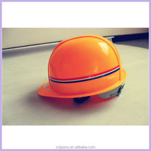 CE approved ABS electrical industrial safety helmet with visor
