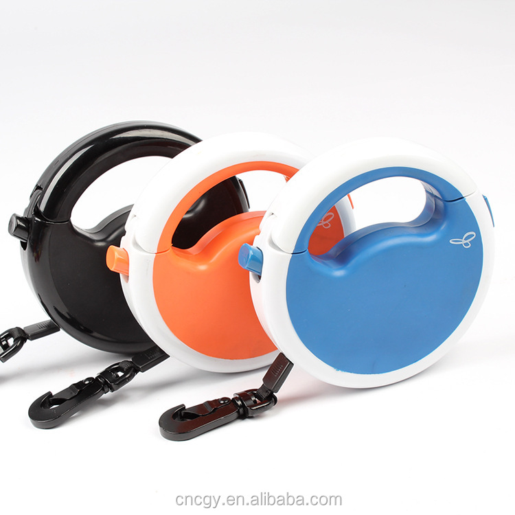 New premium style heavy duty retractable dog leash dog lead for large pet dog china manufacturer