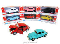 1:32 Die cast mini alloy toy car model kits, cheap cartoon Pull back plastic toy car, diecast full metal car with open door