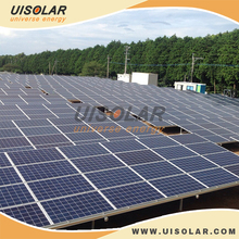 Aluminum solar PV ground installation for solar power system