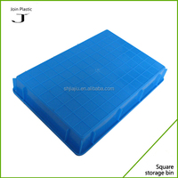 Wholesale 100% virgin PE flat plastic containers