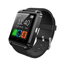 Newest u8 smart watch with camera and sim card slot support IOS and Android for all smartphone and other android cellphone
