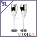 Mirro Polish Finish with Spotless Plating Wholesale Handmade Champagne Glass Fancy Wine Glass