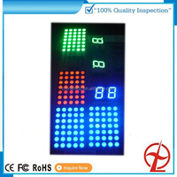 5X7 white LED dot matrix display for pattern 16x16 dot matrix led display