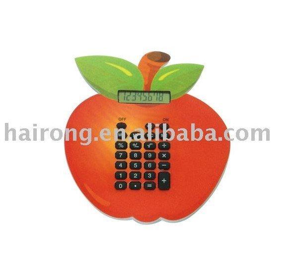 eva foam calculator with apple shape