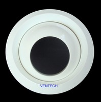 Vent cover high ceiling roof vent round air jet diffuser V92