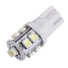 White T10 10SMD Car LED 1206 With 3 Chips LED License Plate Light Tail Light