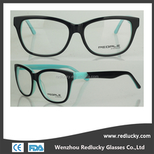 Drop ball test standard half eye reading glasses frames