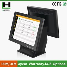 2015 Tall Black Restaurant Android Pos Terminal with pos 80 Printer Thermal Driver