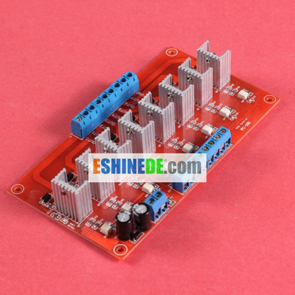 8 Bit DC 24V PLC Amplification Optocoupler Isolated Power Output Board