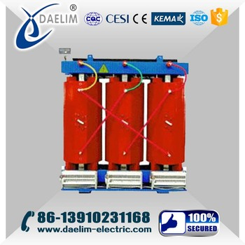 Low to Medium Voltage 11kv 2000kva Dry Type Power Transformer