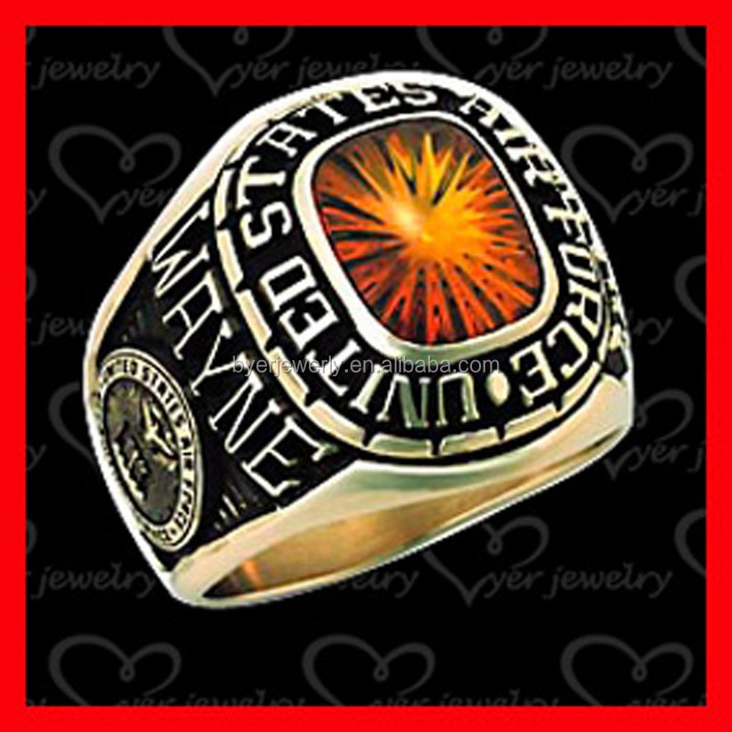 USA military ring mens jewelry wholesale in cheap cost