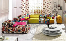 hot sale sofa in india, india best selling sofa for living room, OEM Colorful Fabric Sofa #BM017