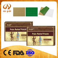 2016 Better design OEM chinese natural herbal magnetic pain relief patch