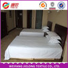 China Wholesale High Quality 100% White Cotton Satin Stripe Fabric hotel bedding linen/satin stripe fabric for bedding sets/bed