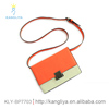 Hot sale ladies PU handbags cross body women small bags with old metal