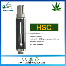 WHL new products with creative technology 0.5ml 0.8ml 1ml stainless cover slim cbd vape cartridge