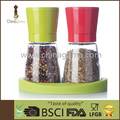 BSCI Audit 2pcs set 6OZ 170ml Food Grade Upside Down Pepper Mill