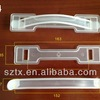 163mm Transparent Plastic Cardboard Handle