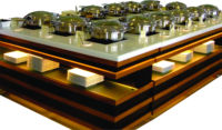 Outstanding Quality Made Modern Luxury Buffet Counter