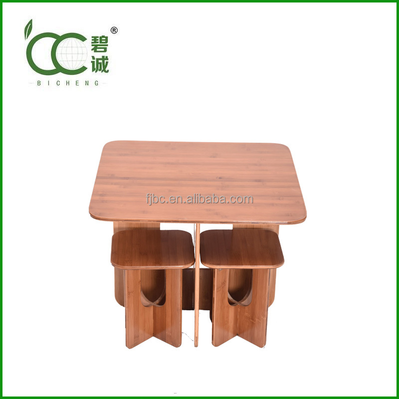 Cheap Bamboo Outdoor Table and Chairs