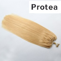 Virgin Micro Ring Loop Human Hair Extensions
